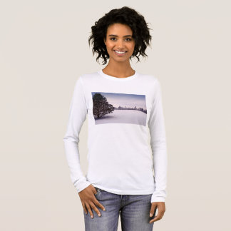 lovely winter Chicago - long sleevs women's shirt