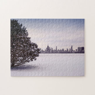 lovely winter Chicago - puzzle