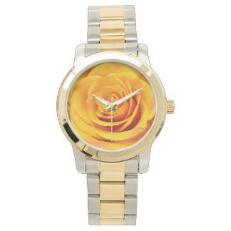 Lovely Yellow Rose Bloom Watch