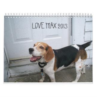 LOVEMAX 2013 CALENDAR