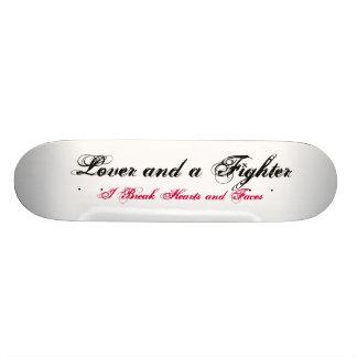 Lover and a Fighter Skateboard Decks