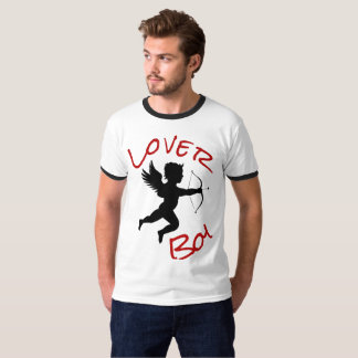 Lover boy Valentines day funny cute cupid T-shirt