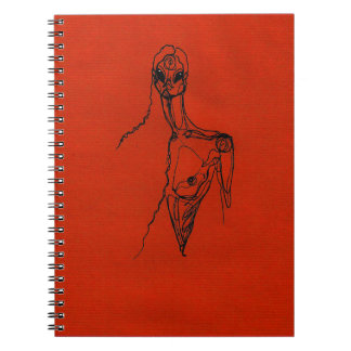 Lover gal spiral notebook