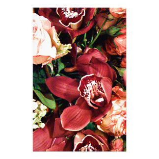 Lover of Orchids_ Personalized Stationery