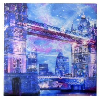 Lover's London Dreams Large Square Tile