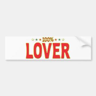 Lover Star Tag Bumper Stickers