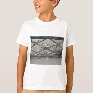 Lovers Bridge - Paris Love Locks, France T-shirts