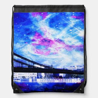 Lover's Budapest Dreams Drawstring Bag