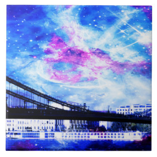 Lover's Budapest Dreams Large Square Tile