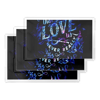 Lover's Dream of the Ones that Love Us Acrylic Tray