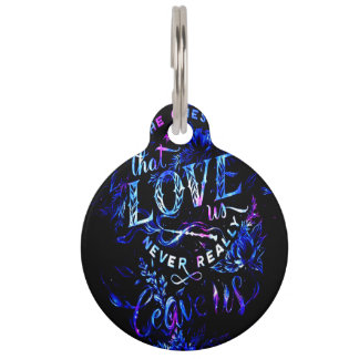 Lover's Dream of the Ones that Love Us Pet ID Tag