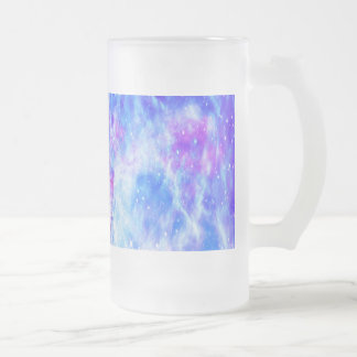 Lover's Dream. Paris Frosted Glass Beer Mug