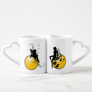 Lovers' Heart Coffee Mug Set