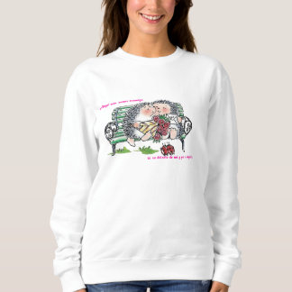 Lovers hedgehogs sweatshirt