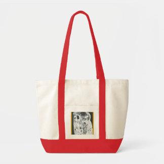 Lovers… (Homage has Gustave Klimt) Impulse Tote Bag