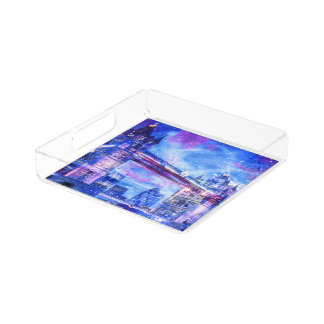 Lover's London Dreams Acrylic Tray
