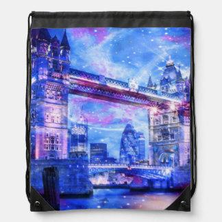 Lover's London Dreams Drawstring Bag