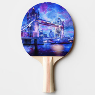 Lover's London Dreams Ping Pong Paddle