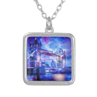 Lover's London Dreams Silver Plated Necklace