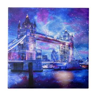 Lover's London Dreams Small Square Tile