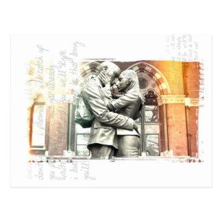 "LOVERS ""long distance"" Postcard"