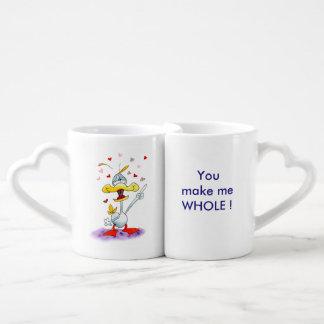 LOVER'S MUG: You make me whole... Coffee Mug Set