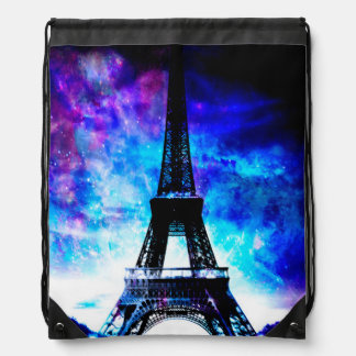 Lovers Parisian Creation Dreams Drawstring Bag