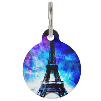 Lovers Parisian Creation Dreams Pet Name Tag