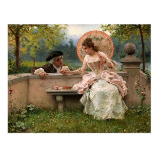 Lovers Talk - Andreotti Postcard