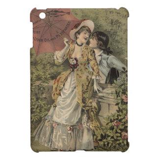 Lovers Under Umbrella iPad Mini Cover