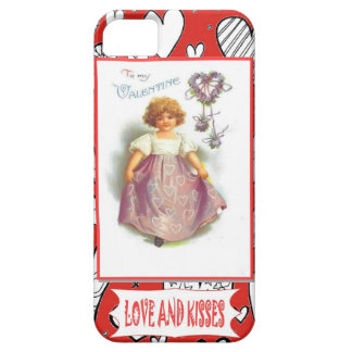 Loves and kisses iPhone 5 case