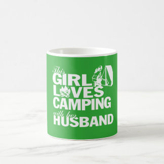 LOVES CAMPING WITH HER HUSBAND COFFEE MUG