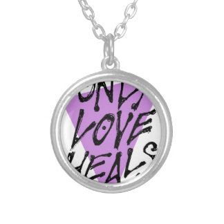 LOVES-HEAL SILVER PLATED NECKLACE