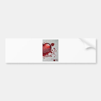 Love's Heat Bumper Sticker