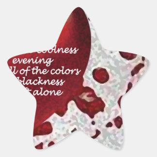 Love's Heat Star Sticker