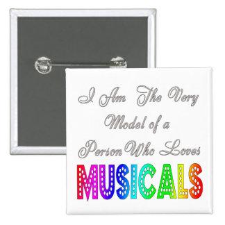 Loves Musicals Button