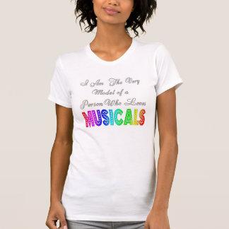 Loves Musicals Womens T-Shirt
