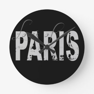 Loves of Paris Wall Clock