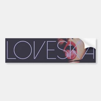 Loveska Tasty Girl Bumper Sticker