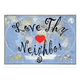 LoveThyNeighbor Postcard