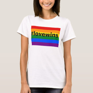 #lovewins Gay Pride Marriage Equality Tee