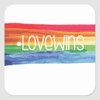 #LoveWins Square Sticker