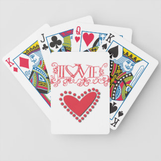 lovie bicycle playing cards