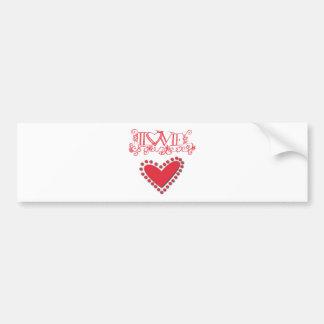 lovie bumper sticker