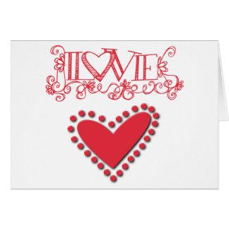 lovie card