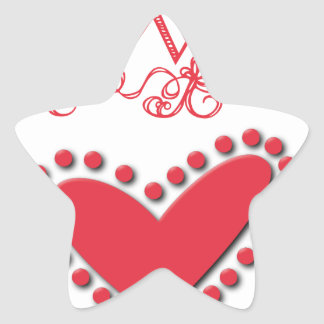 lovie star sticker