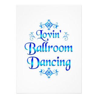 Lovin Ballroom Dancing Announcements