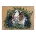 Lovin' lavender Guinea Pig / Cavia Note Card
