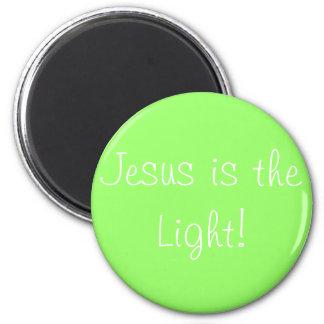 Lovin' Lime green 6 Cm Round Magnet
