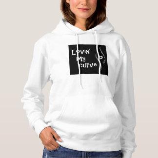 Lovin' My Curve(s) hoodie (S-XXL)